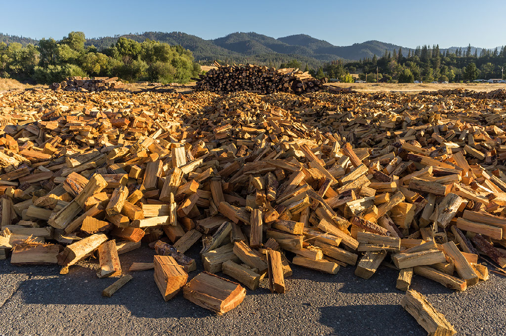Image of a pile of firewood