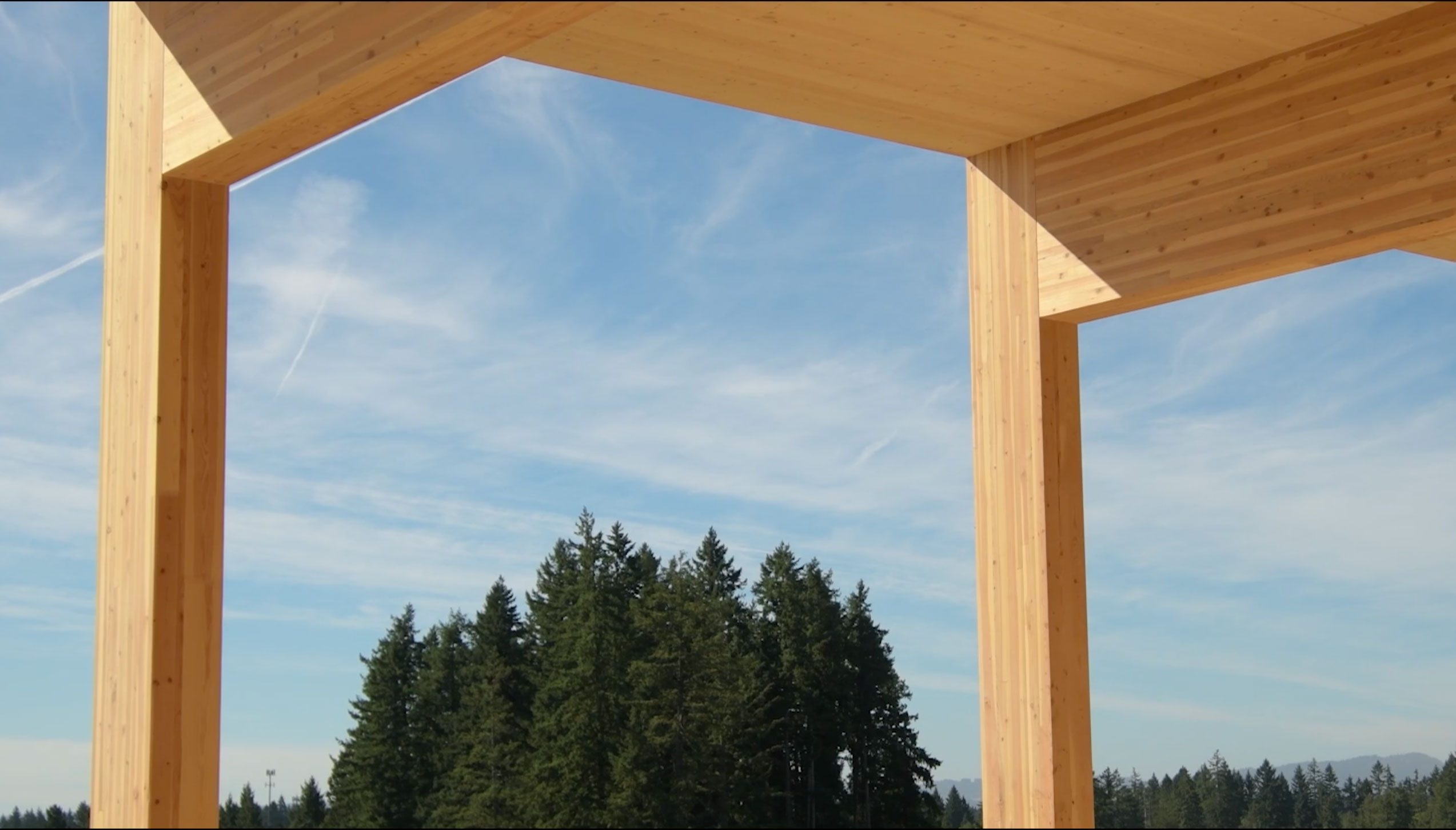 Image of wood construction