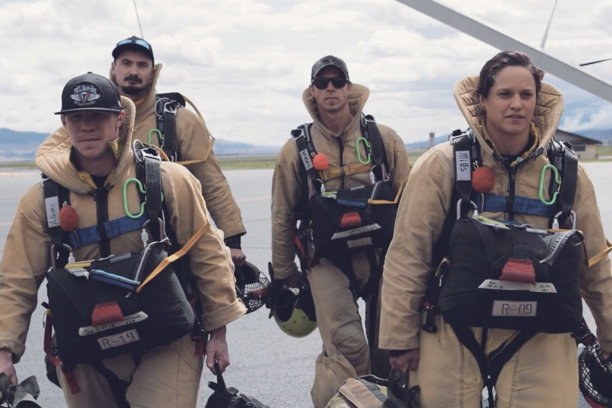 Smokejumpers on the Tarmac