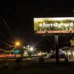 #forestproud billboard in Fernandina Beach Fall 2018