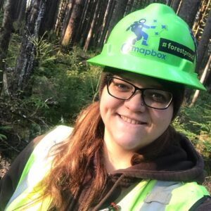 selfie with a hardhat