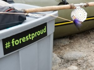 #forestproud on fishing gear