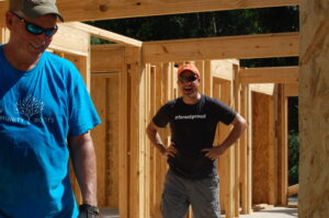 RMS is building a Habitat for Humanity house in Prattville, Alabama. Craig Blair (President) and Brian Golson (International Accounting Manager) did some work on the house. We couldn't help notice Craig's rocking a #forestproud t-shirt! The future of cities is built one house at a time. Nice job team.
