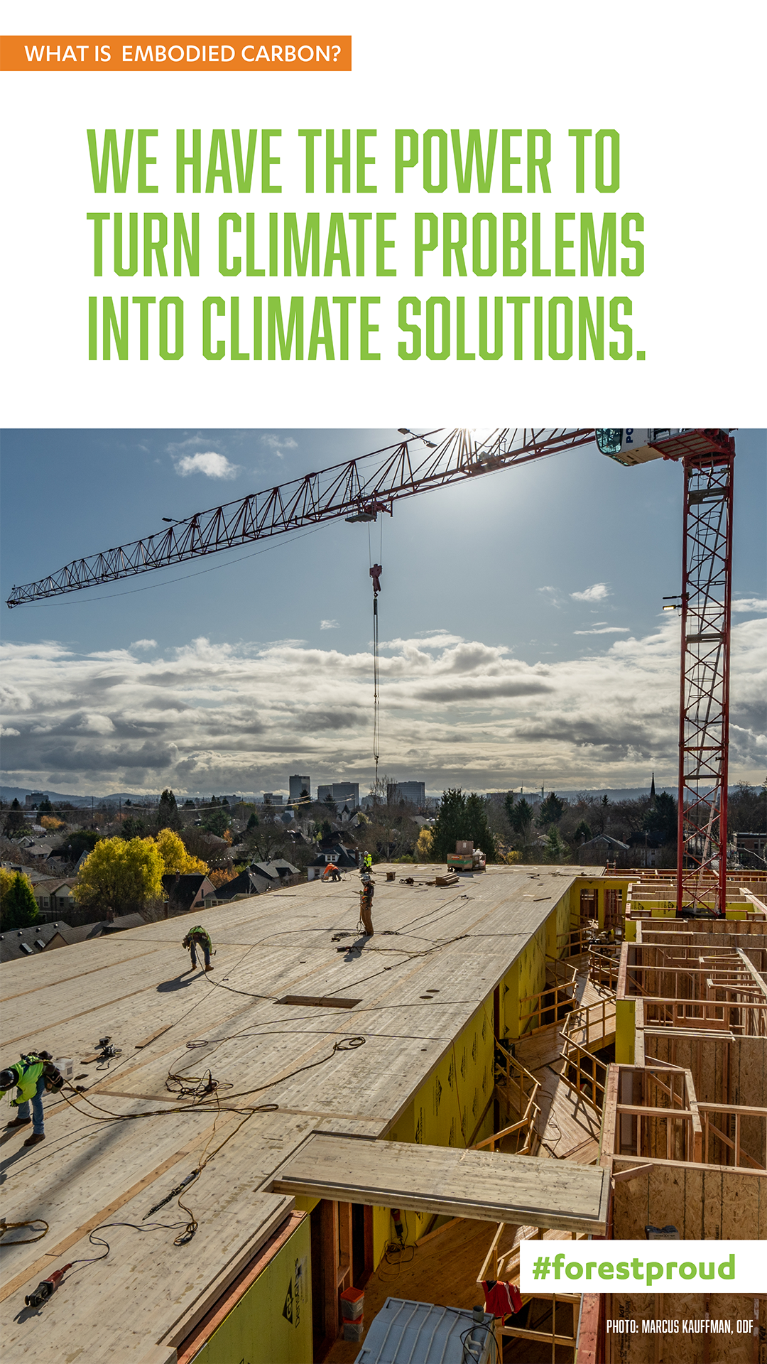 Climate Problems –> Climate Solutions